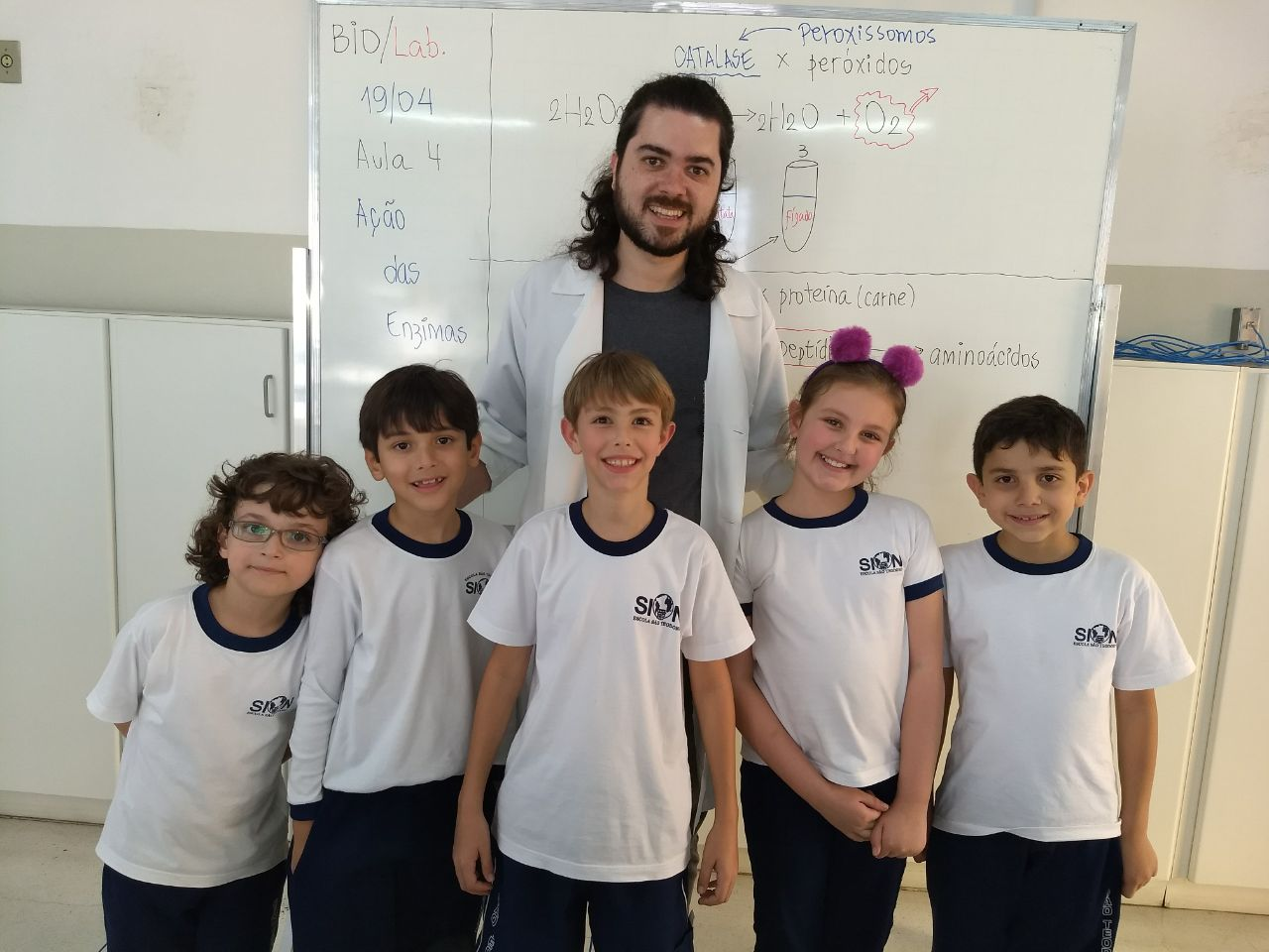 e63de3d714c Parabéns aos alunos do 3º ano B que participaram do Clube da Ciência no 1º  bimestre