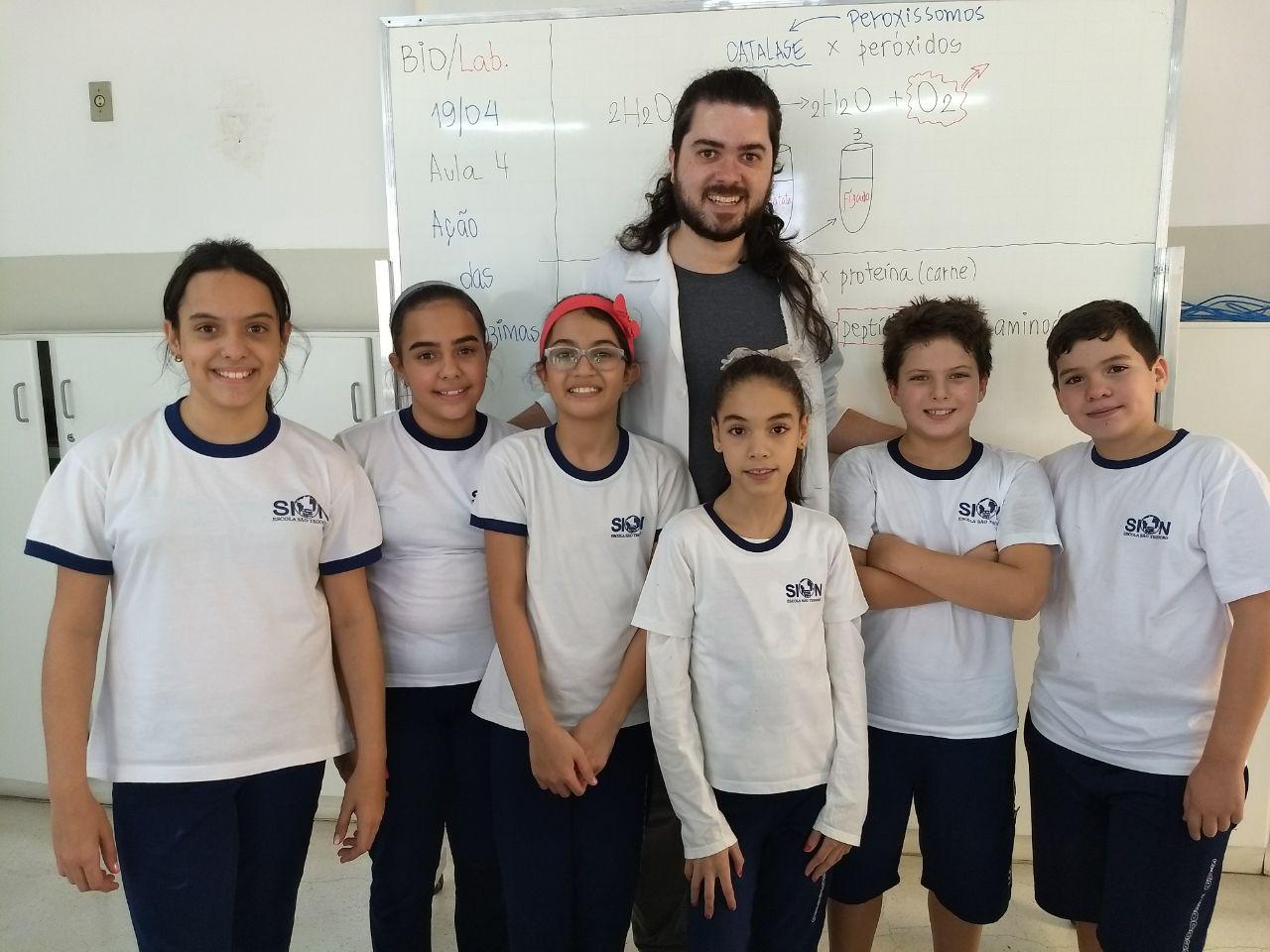 87128f832a4 Parabéns aos alunos do 5º ano B que participaram do Clube da Ciência no 1º  bimestre
